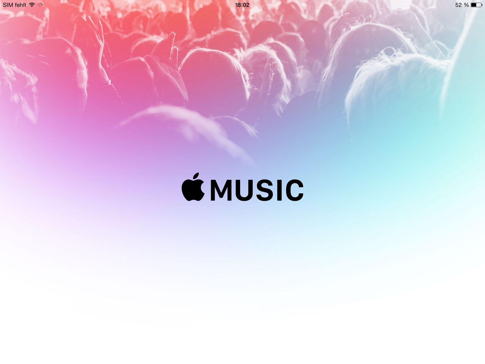 NUR ALS ZITAT Screenshot Apple Music und Spotify kündigen/ AppleMusic 6
