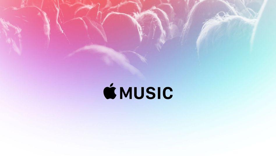 Logo von Apple Music