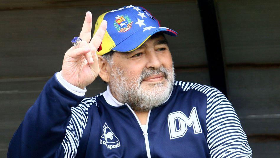 Als Spieler führte Maradona Argentinien 1986 zum WM-Titel - seine Trainerkarriere ist geprägt von Kurzauftritten