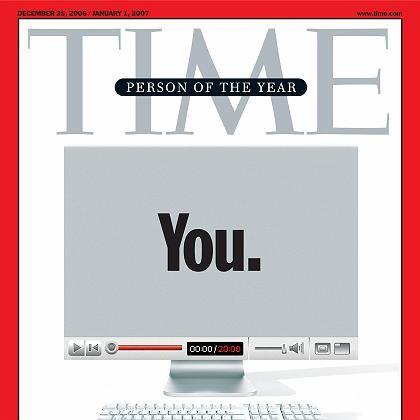 """""""Du. Ja, du. Du kontrollierst das Informationszeitalter. Willkommen in Deiner Welt"""", lautet der Titel der aktuellen """"Time""""-Ausgabe, mit der die Redaktion ihre """"Person des Jahres"""" bekannt gibt"""