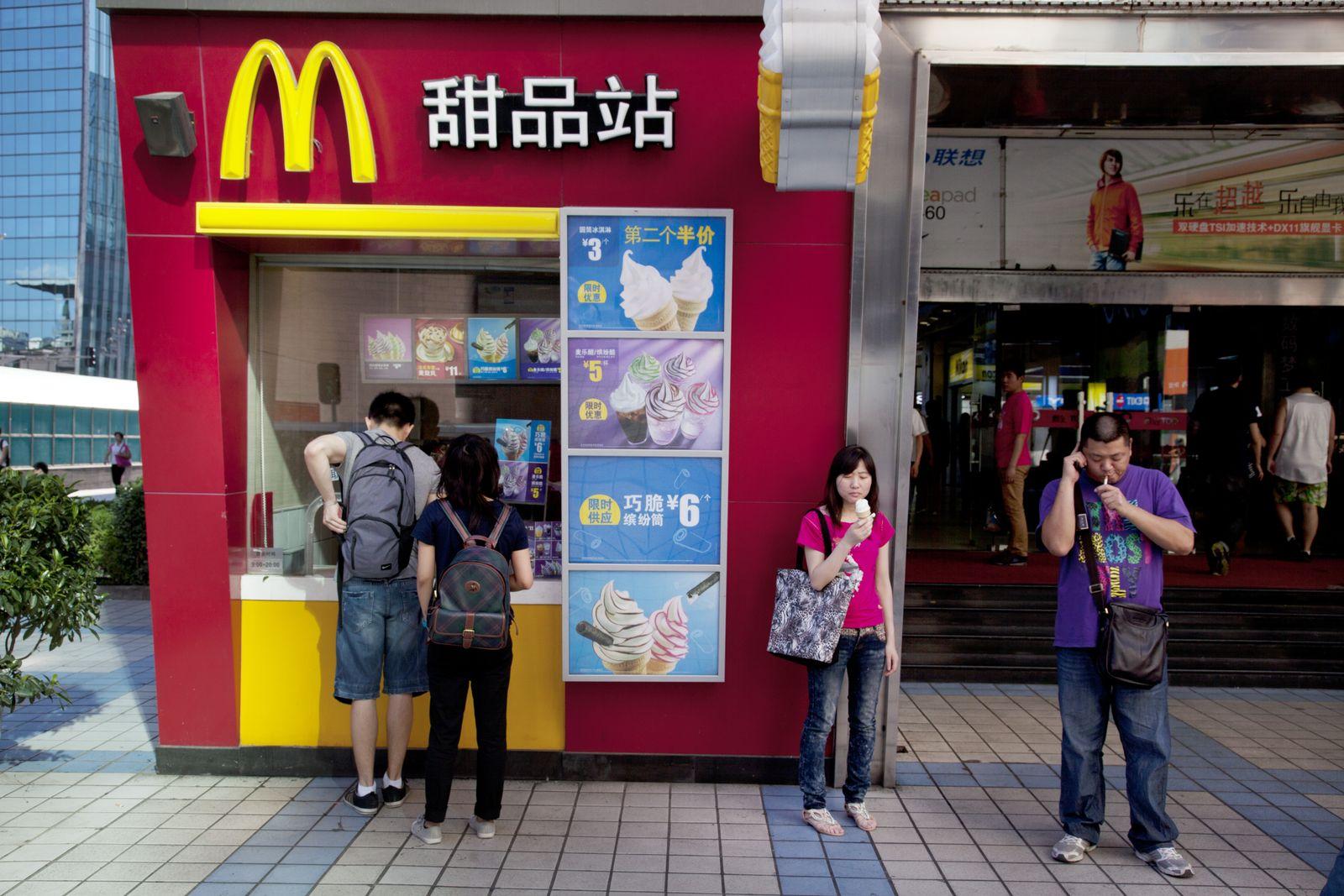 NICHT MEHR VERWENDEN! - McDonalds / Eis / Beijing, China