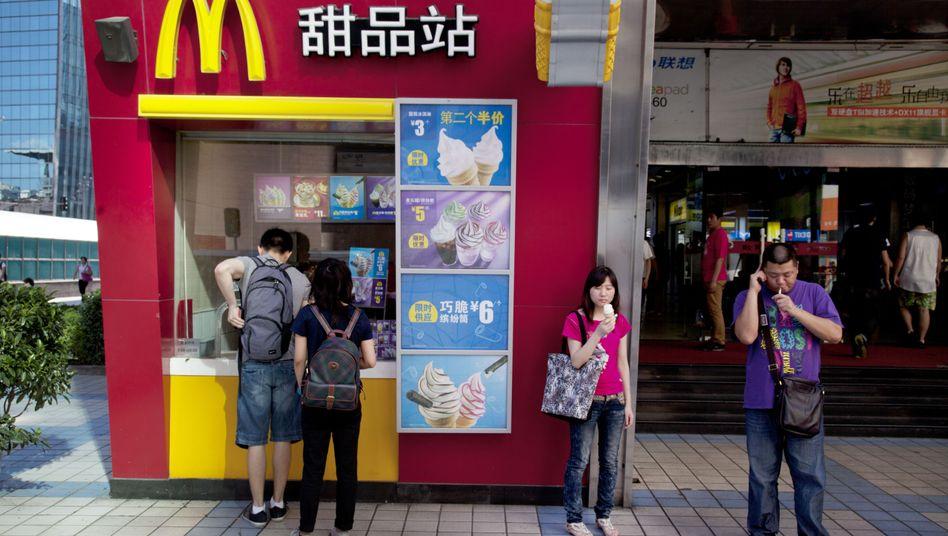 McDonalds-Filiale in China (Archiv)