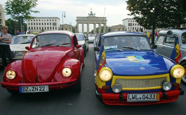 Käfer und Trabbi: Vorurteile auch noch im 24. Jahr nach der Wende
