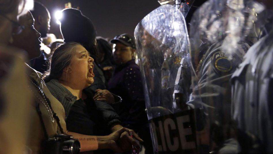 Schüsse in US-Stadt Ferguson: Die Wunde, die nicht heilen will