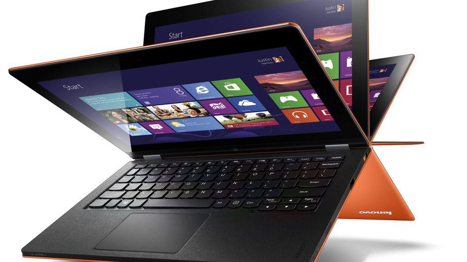 Lenovo IdeaPad Yoga: Einer von etlichen Windows-8-Rechner, die bald kommen