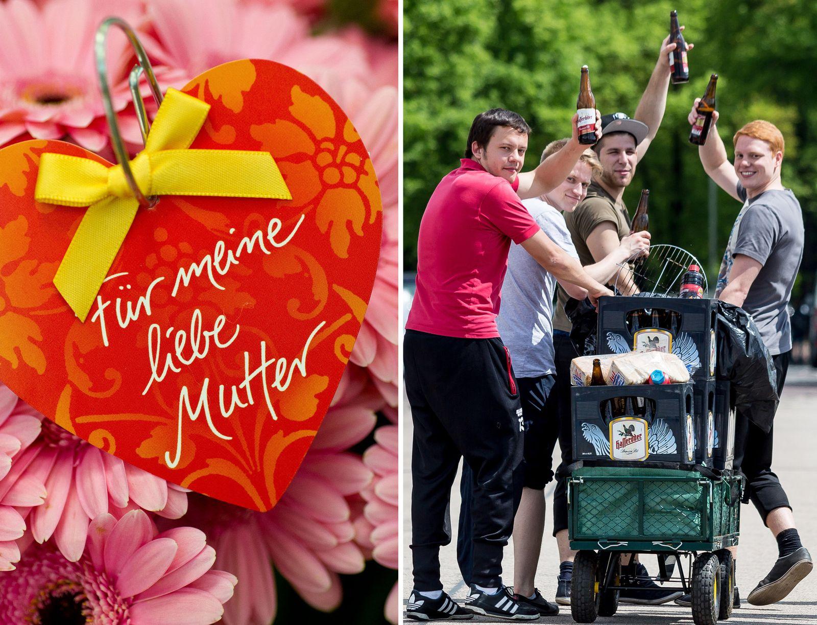 EINMALIGE VERWENDUNG Muttertag/ Vatertag KOMBO