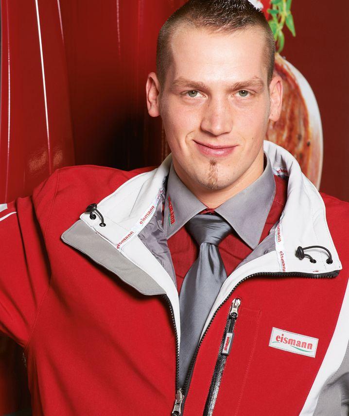 Dennis Friederichs fährt seit zwölf Jahren Tiefkühlwaren aus