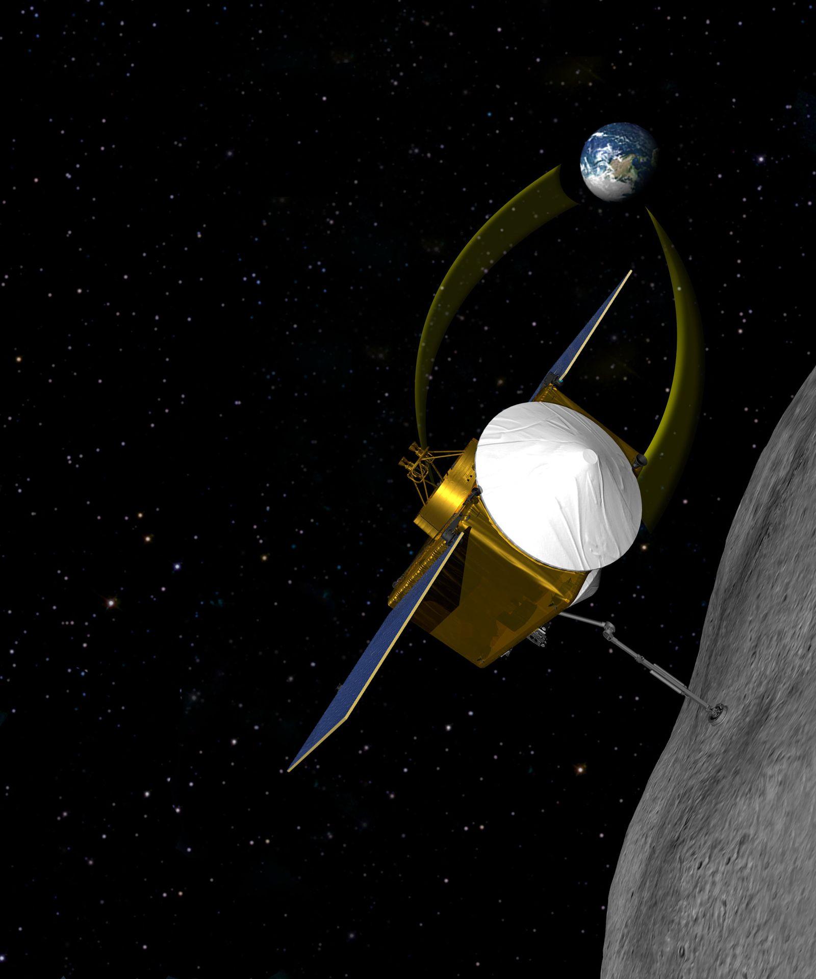 EINMALIGE VERWENDUNG Nasa will 2016 Raumsonde zu Asteroiden schicken