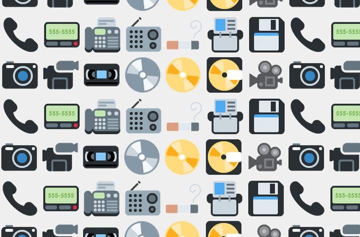 Obsolete Emoji: Vom Telefonhörer bis zum Pager