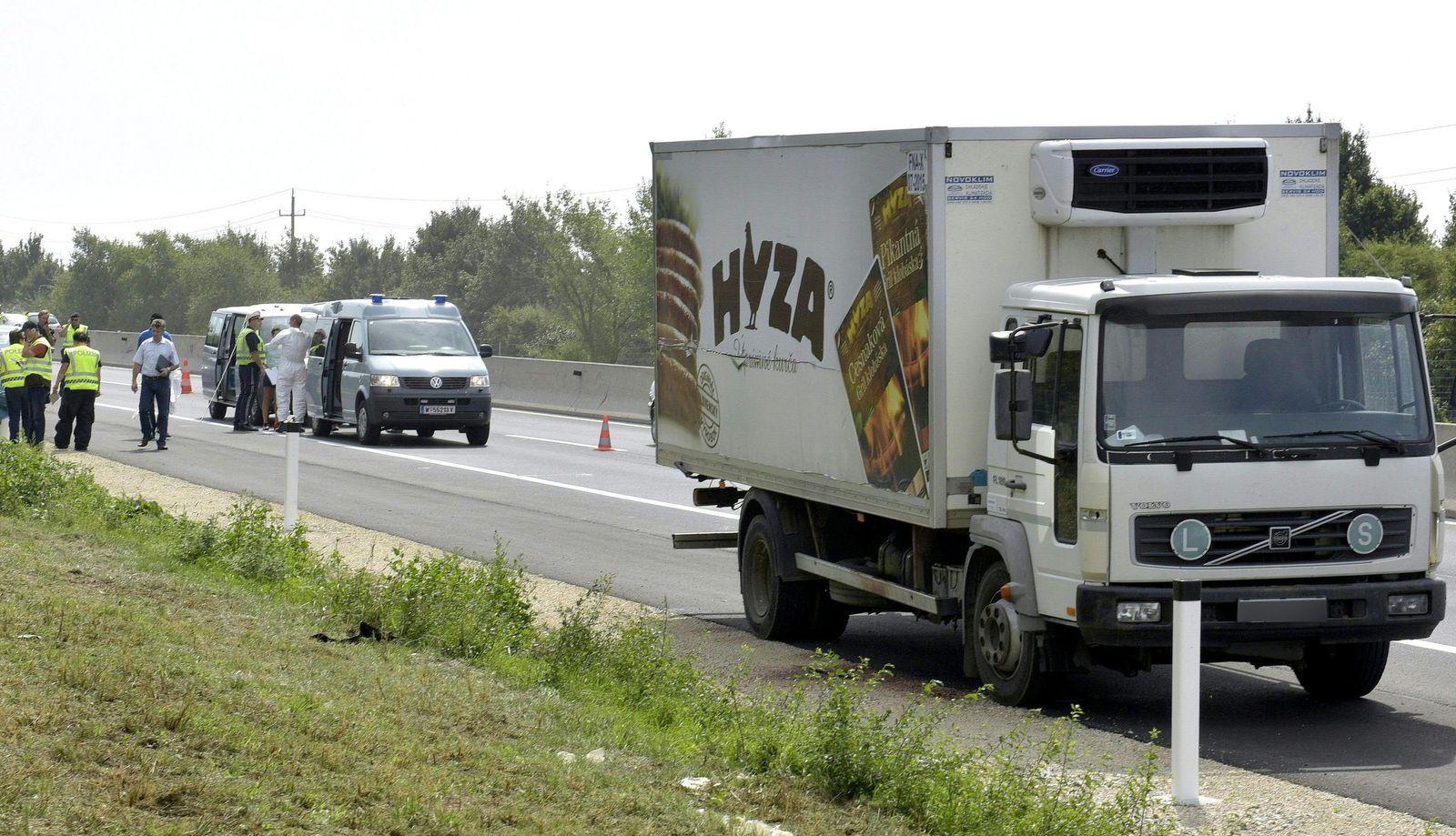 Österreich/ LKW/ Tote Flüchtlinge