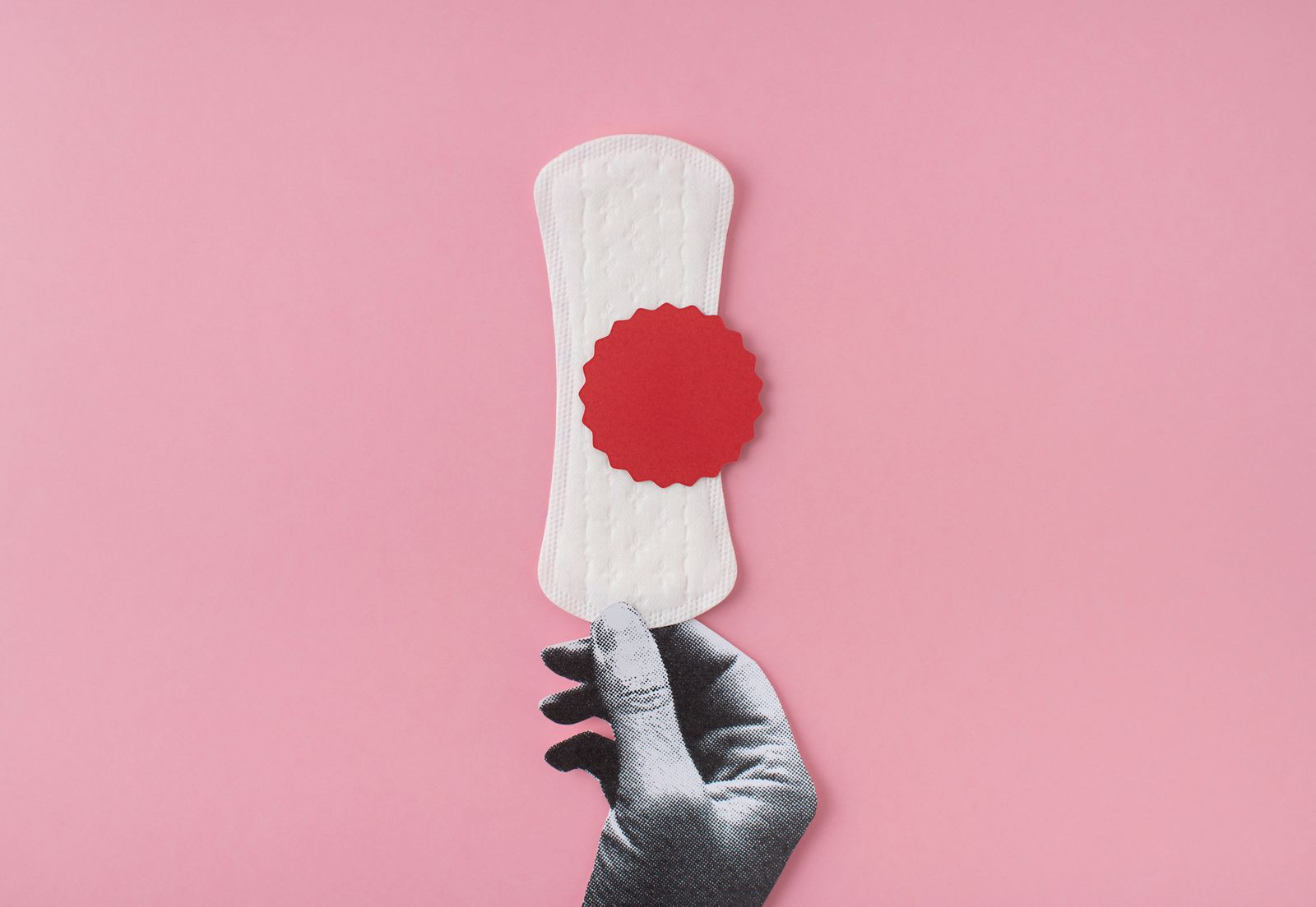 Menstruation Collage
