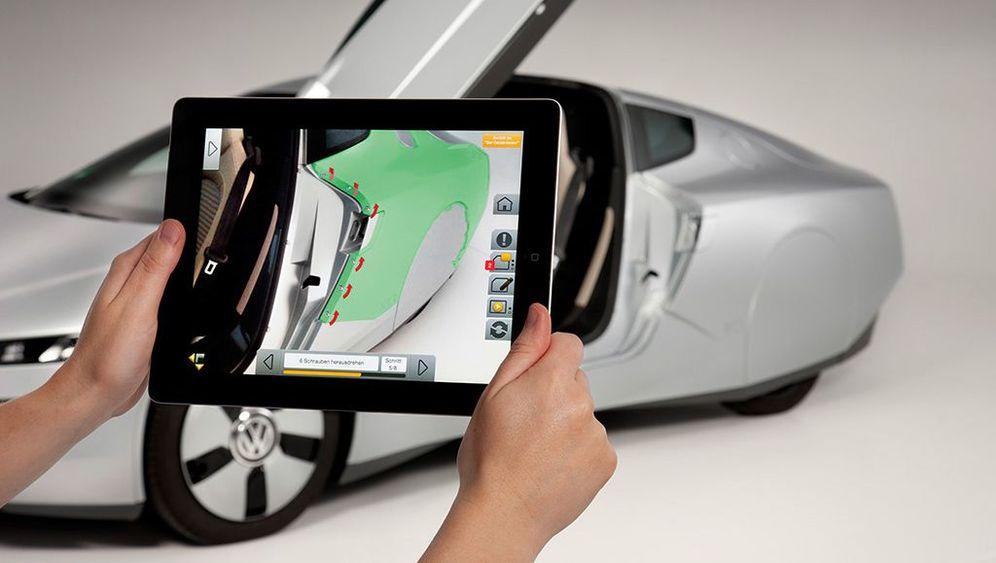 Virtuelle Bauanleitung für Autos: Das Abschraub-Programm
