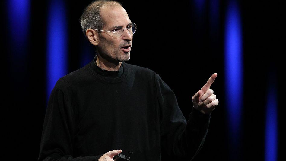 Steve Jobs: Der Apple-Gründer bei einem seiner letzten Auftritte im Juni 2011