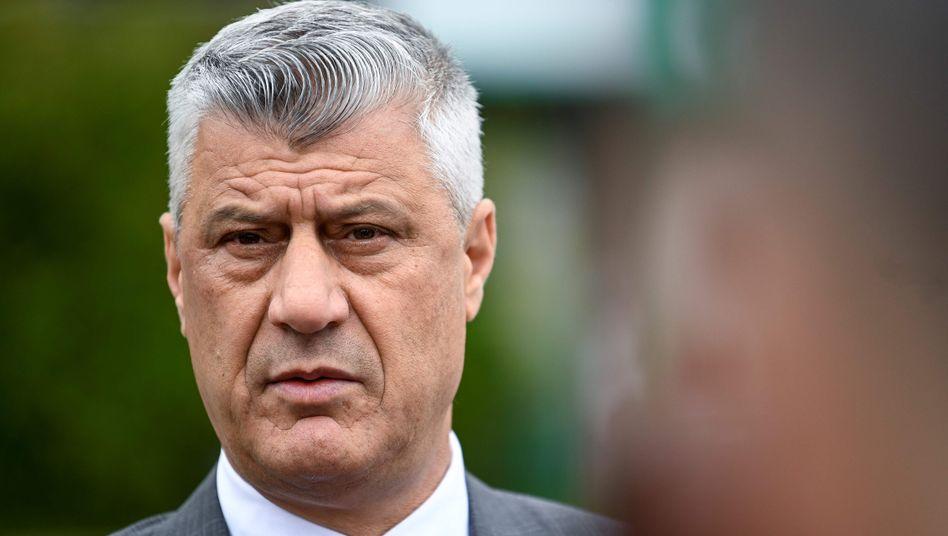Hashim Thaci: Am kommenden Wochenende wollte der Präsident des Kosovo eigentlich zu Gesprächen nach Washington reisen