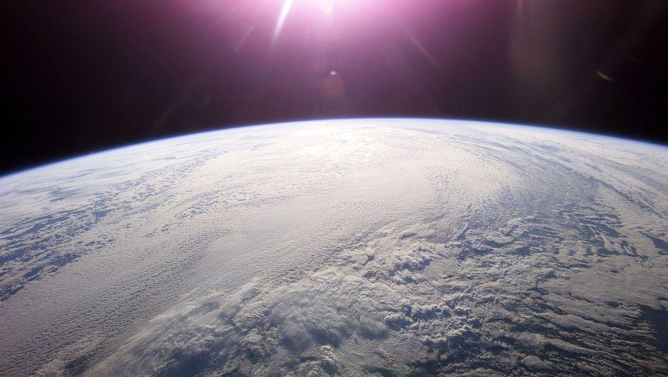 Erde von der ISS aus gesehen: Rund 4,53 Milliarden Jahre alt
