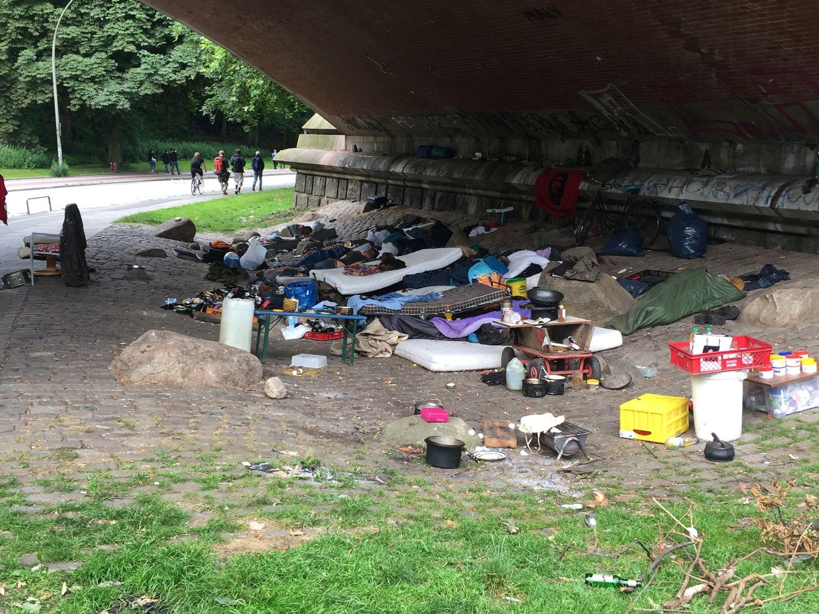 Obdachlose/ G20