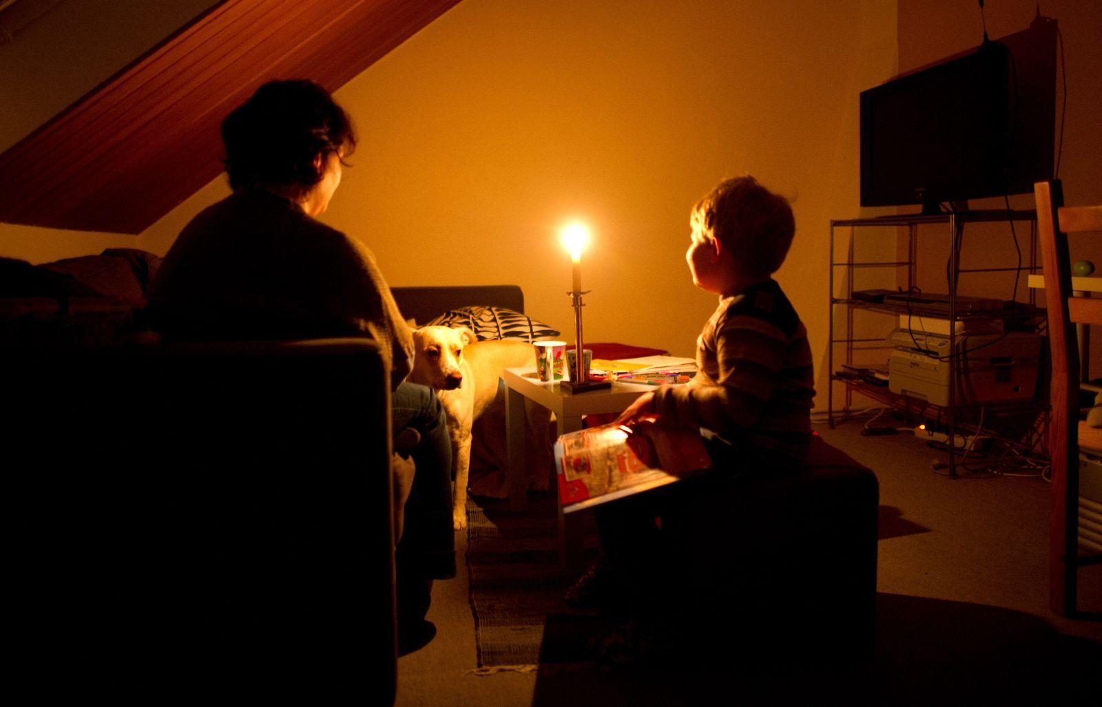 Strom / Sparren / Energie-Armut