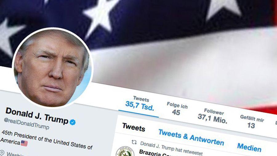 Donald Trumps Twitteraccount