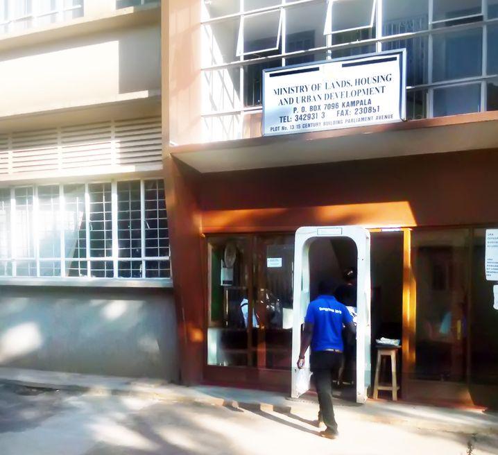 Ministerium für Land, Wohnungswesen und Stadtentwicklung in Kampala, Uganda