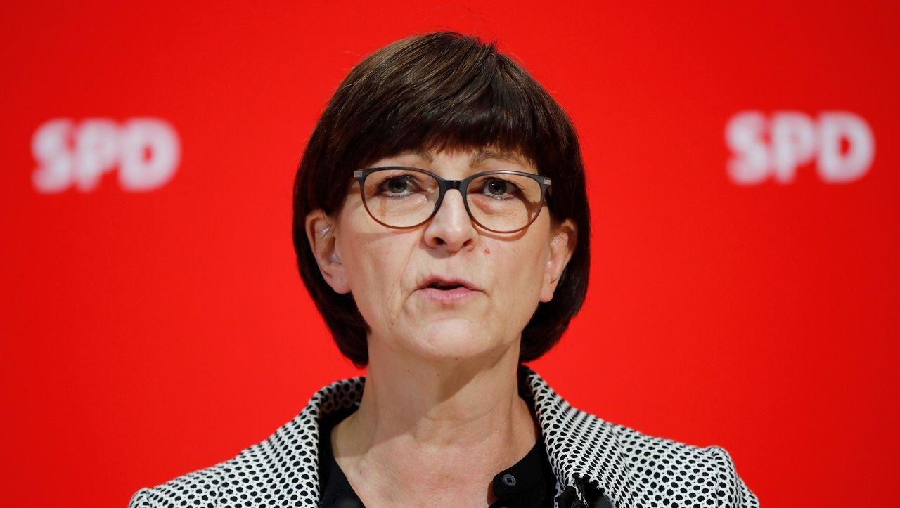 Coronavirus: SPD-Chefin Saskia Esken fordert Sonderabgabe auf Vermögen - DER SPIEGEL - Wirtschaft