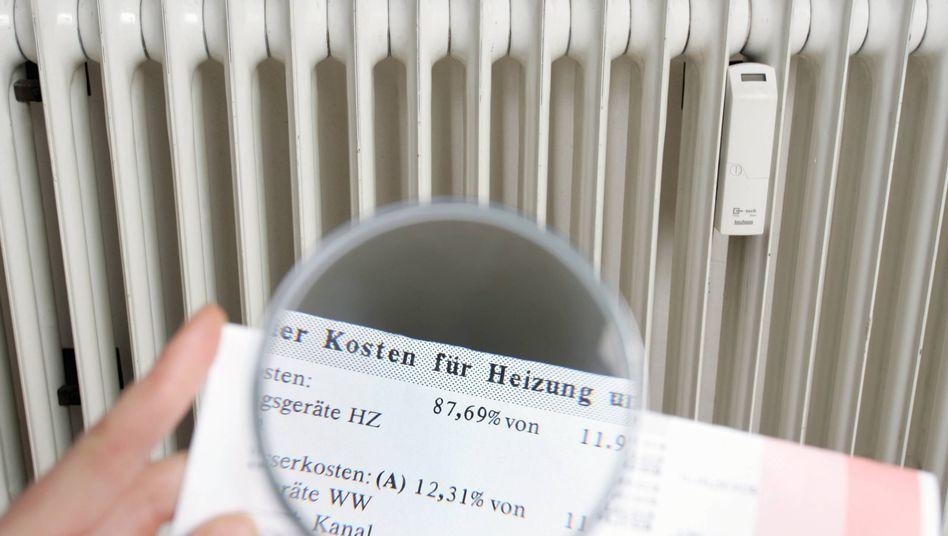 Heizkostenabrechnung: Erdgas und Fernwärme billiger