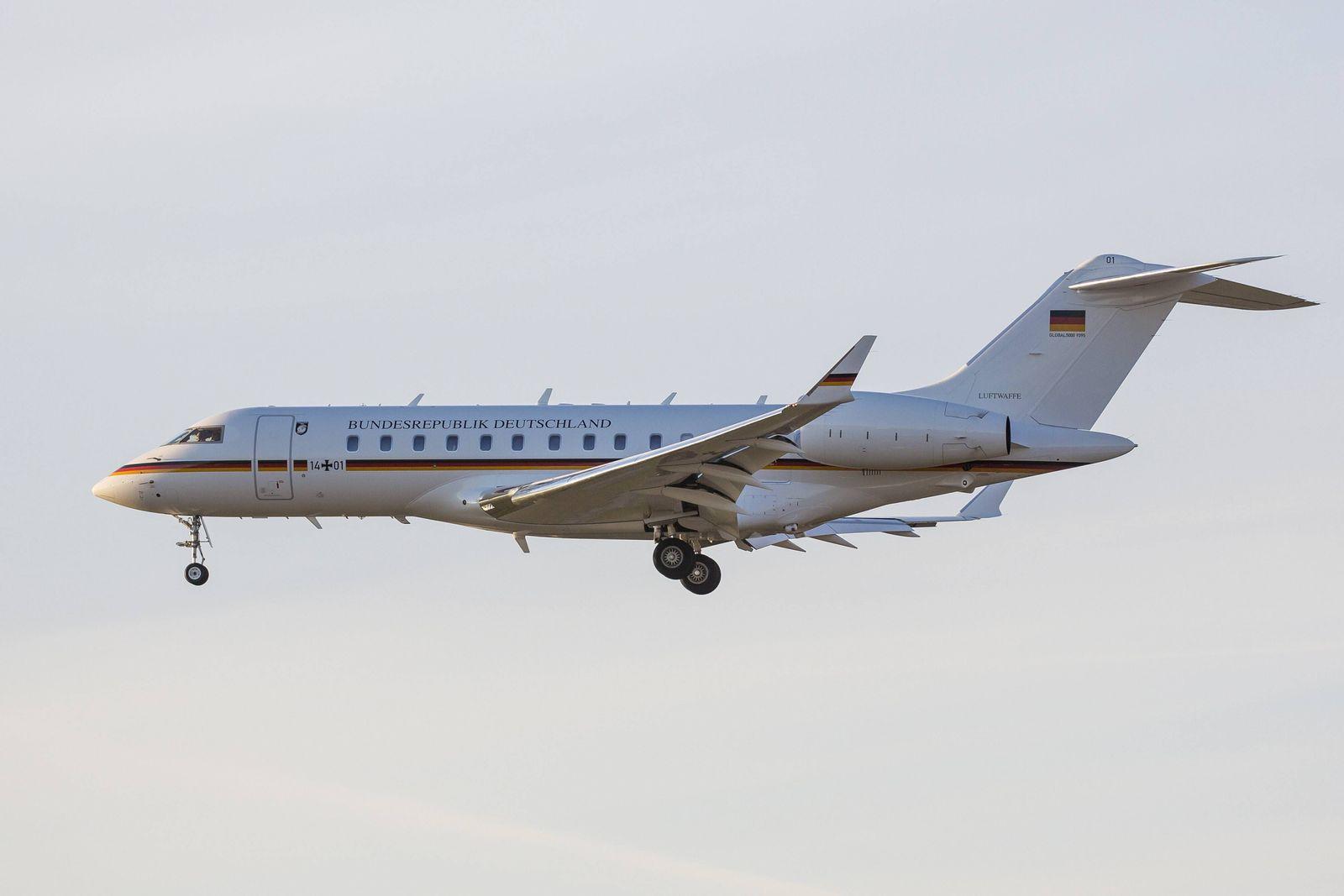 EINMALIGE VERWENDUNG Bombardier Global 5000