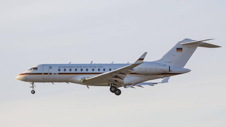 Eine Bombardier Global 5000 (Archiv)