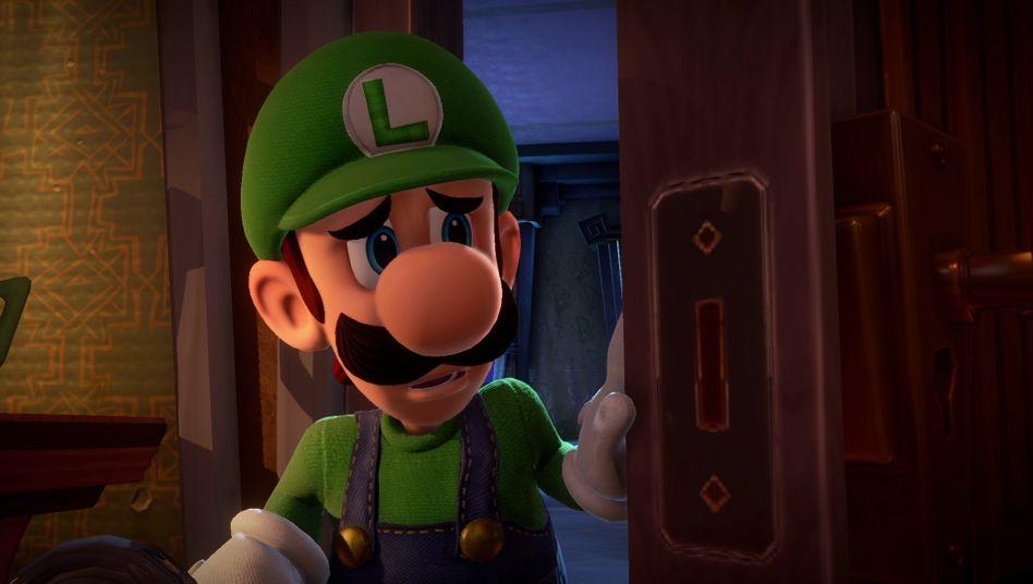 """In """"Luigi's Mansion 3"""" trifft der grüne Klempner auch auf Spinnen"""