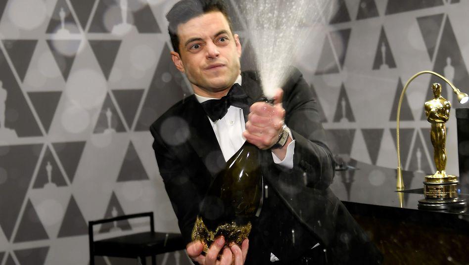 Rami Malek nach seinem Oscargewinn 2019