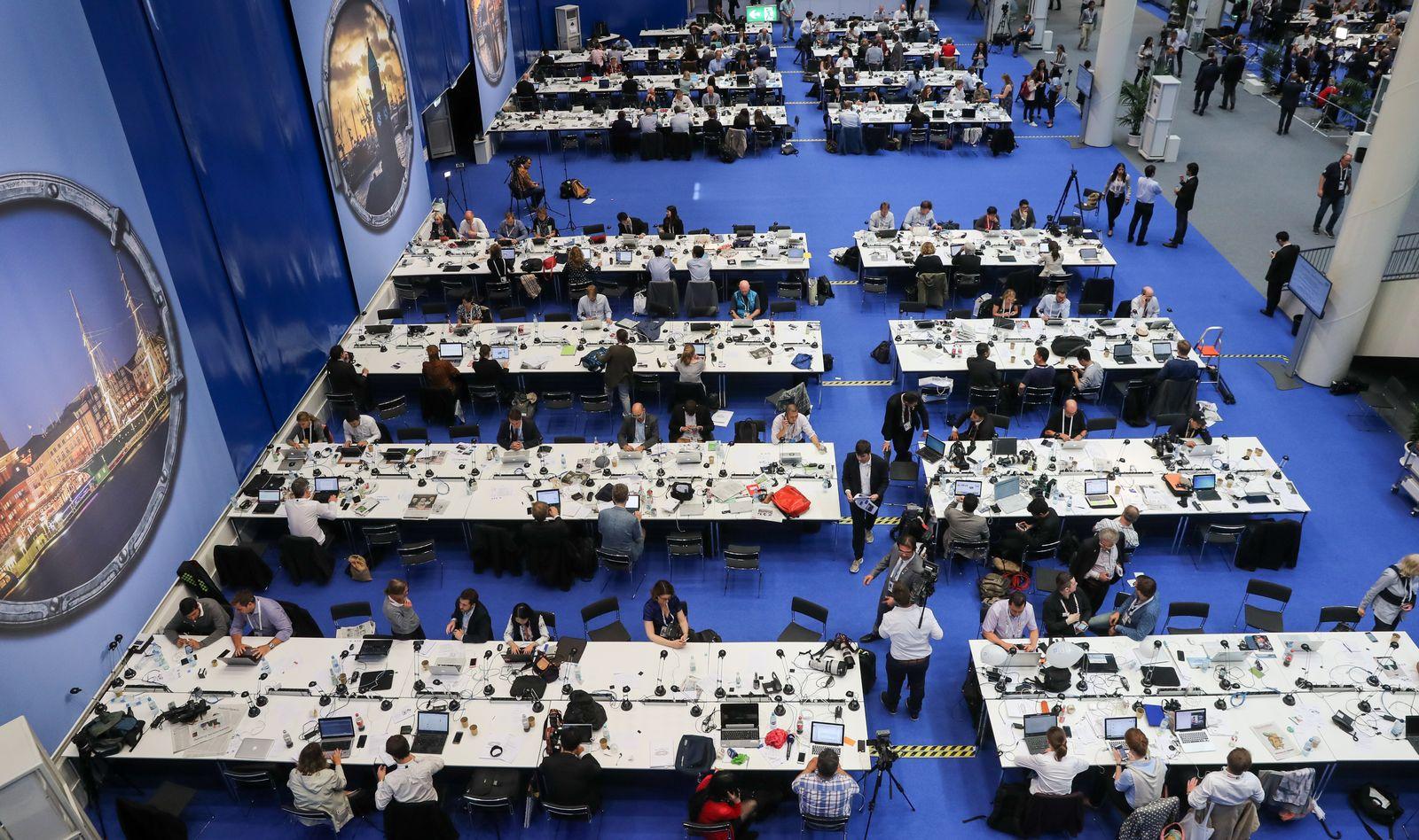 G20 Medienzentrum