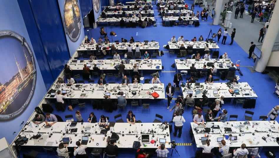 G20-Medienzentrum