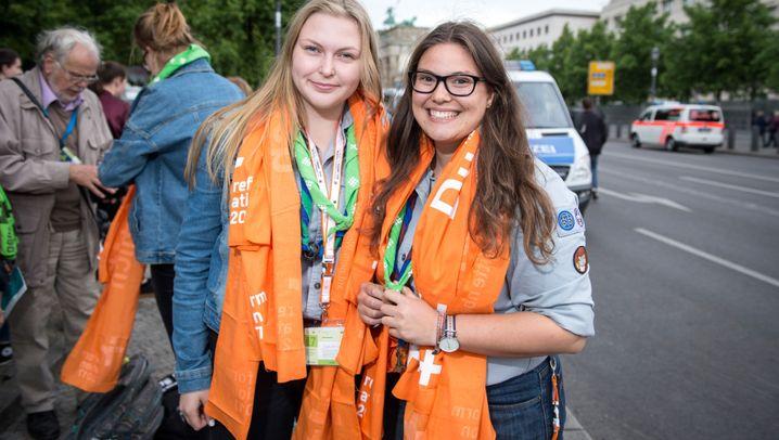"""Kirchentag in Berlin: """"Für mich ist Glauben logisch"""""""