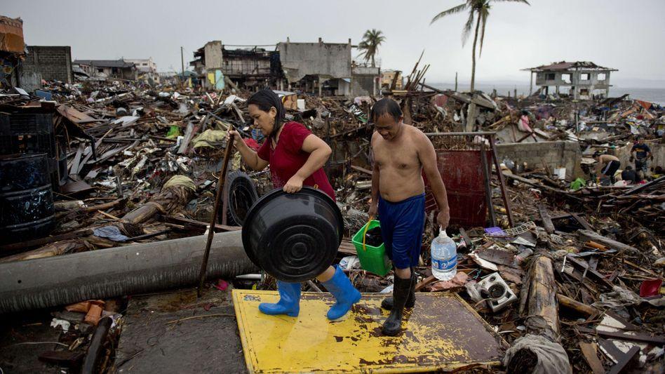 Überlebende in Tacloban: Zerstörte Stadt