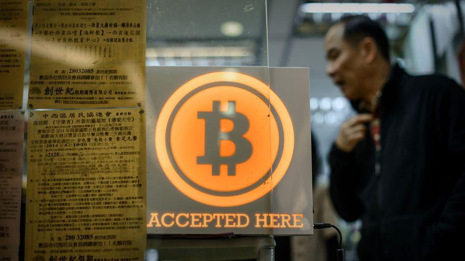 Geschäft in Hongkong, das Bitcoin als Zahlungsmittel akzeptiert
