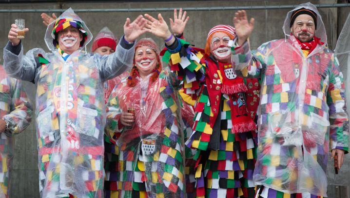Karnevalsumzüge: Gegen den Wind