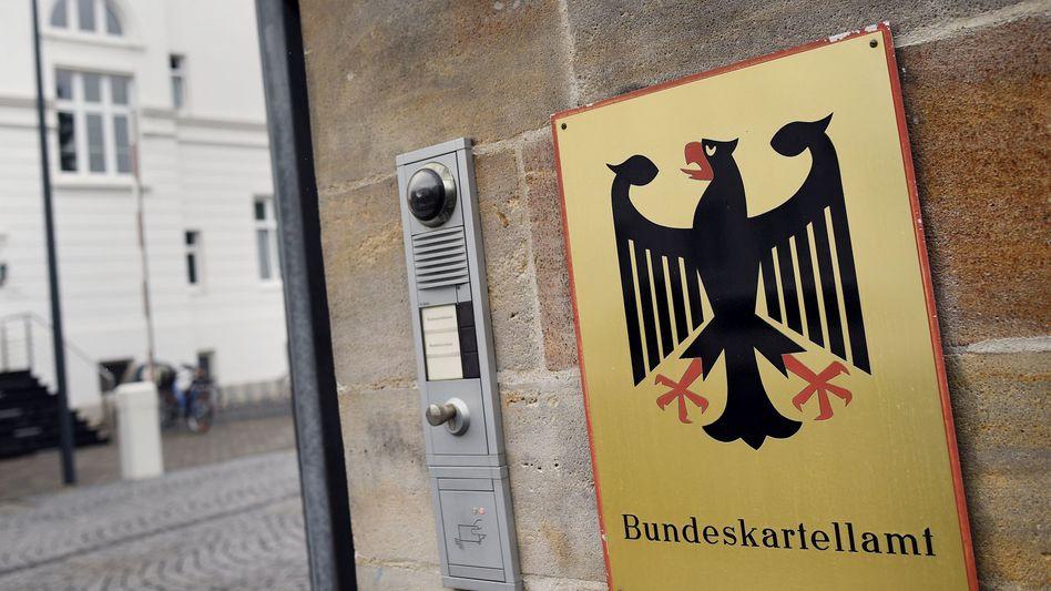 Eingang des Bundeskartellamts (Archivbild)