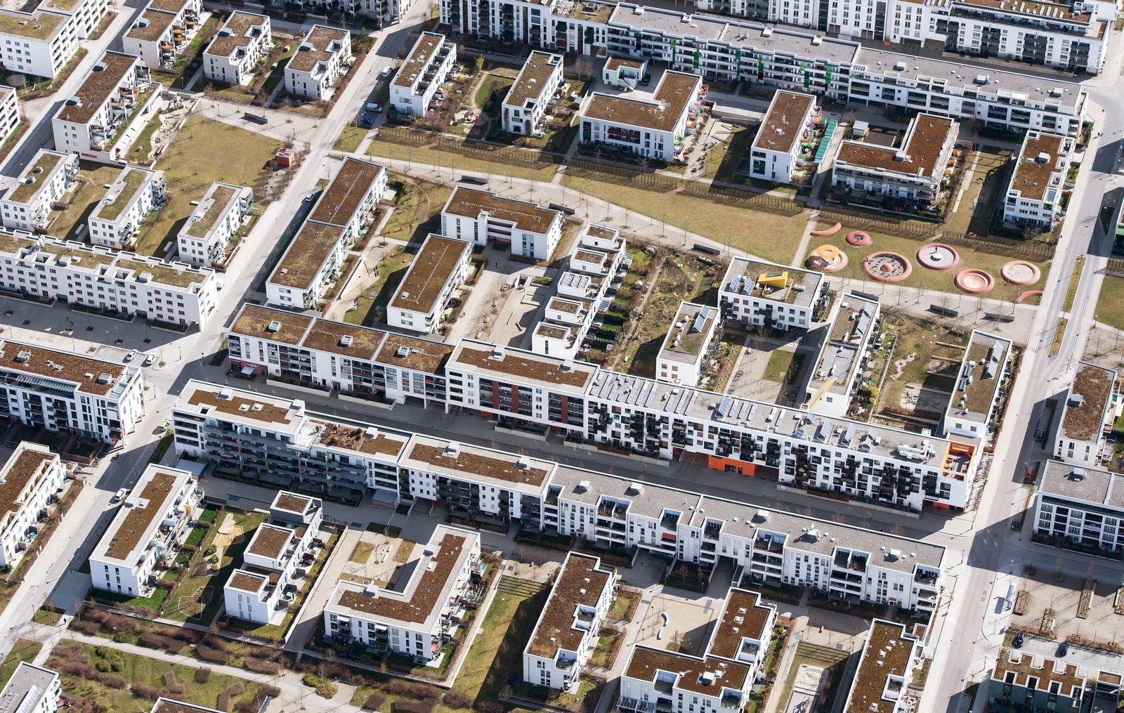 Immobilien / Wohnanlage in der Stadt / München