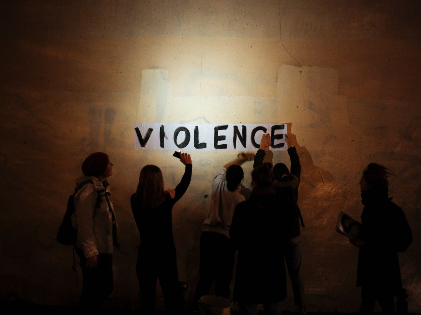 France Domestic Violence Photo Gallery