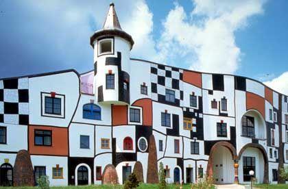Rogner-Bad Blumau: Gesamtkunstwerk von Hundertwasser