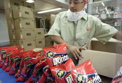 Herstellung von Frito-Lay-Doritos: Längst mehr als ein Softdrink-Hersteller