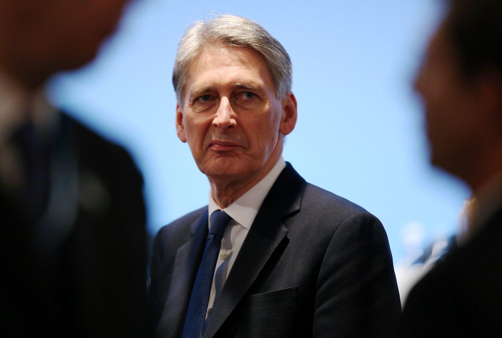 Britischer Außenminister Philip Hammond