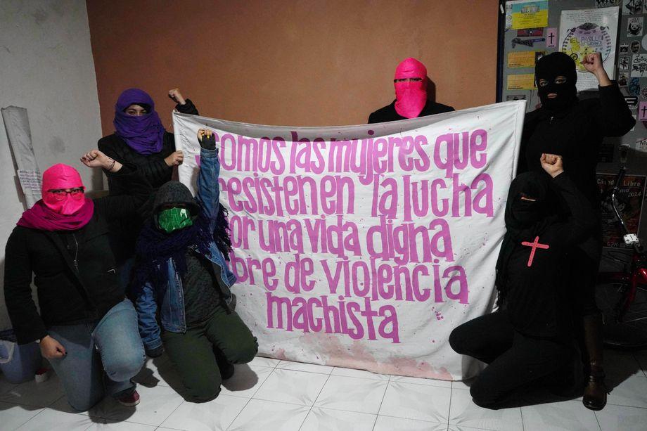 Auch Isabel Cabanillas gehörte zu der feministischen Gruppe, die gegen Macho-Kultur, Gewalt und Frauenmorde kämpft