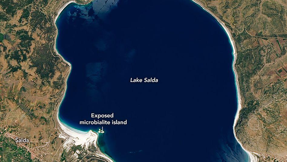 Die Uferregionen des Salda-Sees sind auch als Malediven der Türkei bekannt
