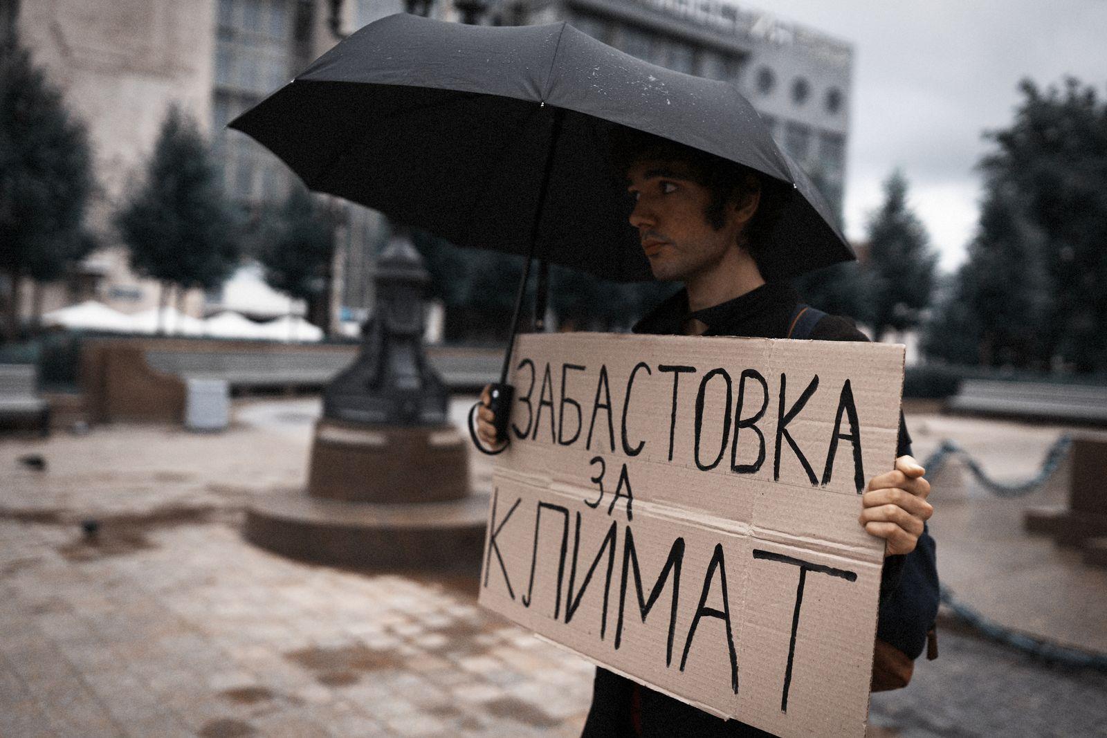 EINMALIGE VERWENDUNG Klimaprotokoll/ Russland/ Arschak Makitschan