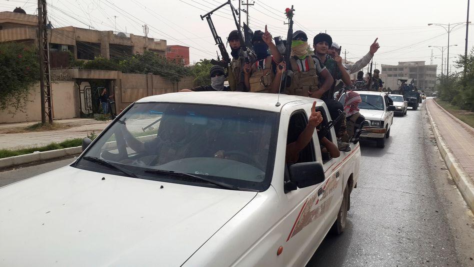 """IS-Kämpfer in Mossul: """"Erhebliche Gefahr durch Rückkehrer"""""""