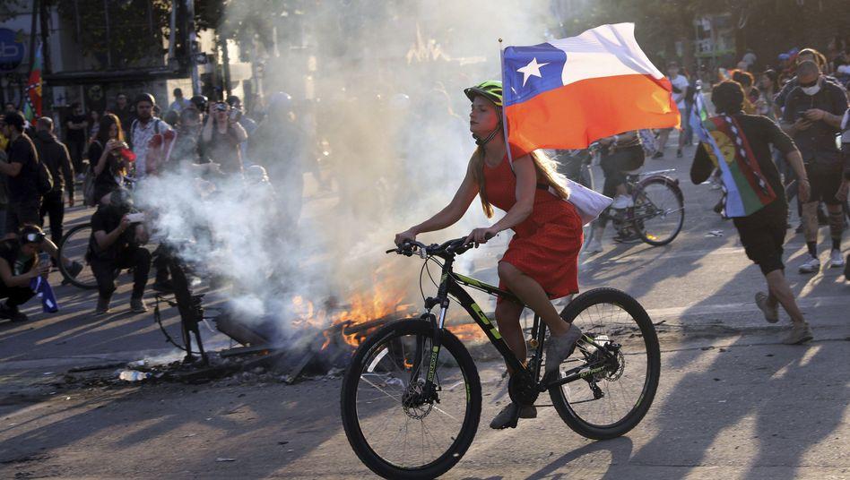 Der Ausnahmezustand, der Chile in der vergangenen Tagen prägte, ist beendet