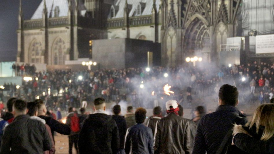 Silvesterabend in Köln