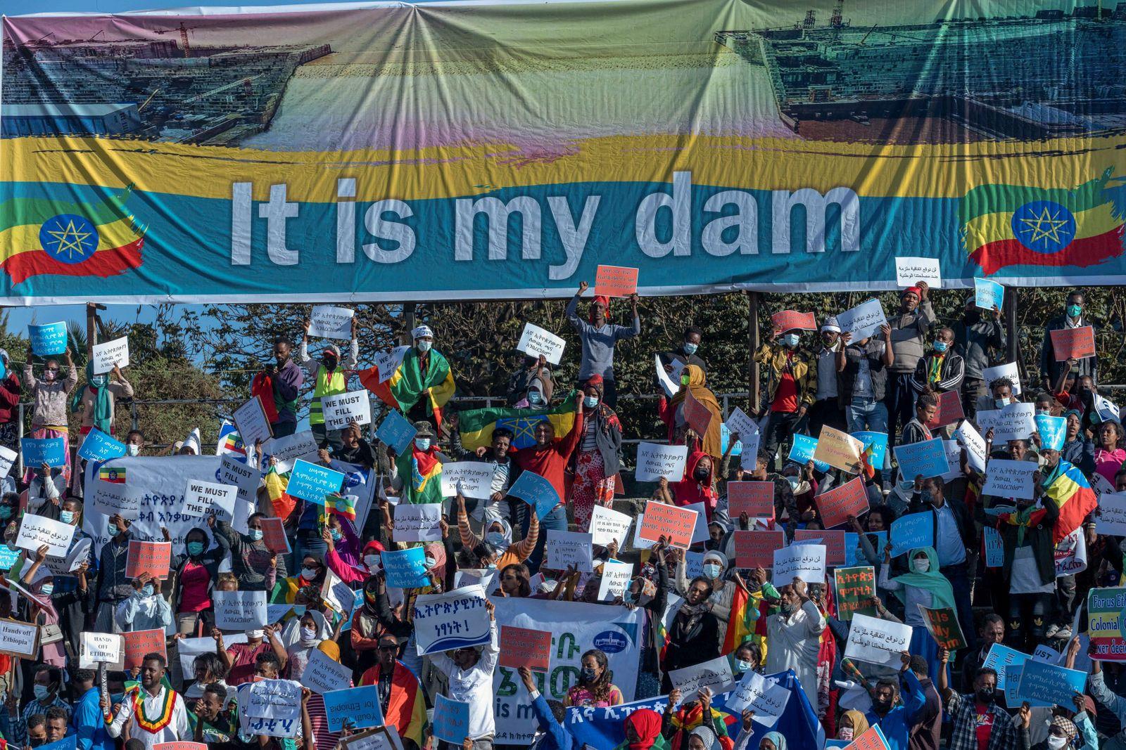 Ethiopia Tigray Demonstration