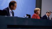 Angela Merkel präsentiert Ergebnis der Corona-Beratungen