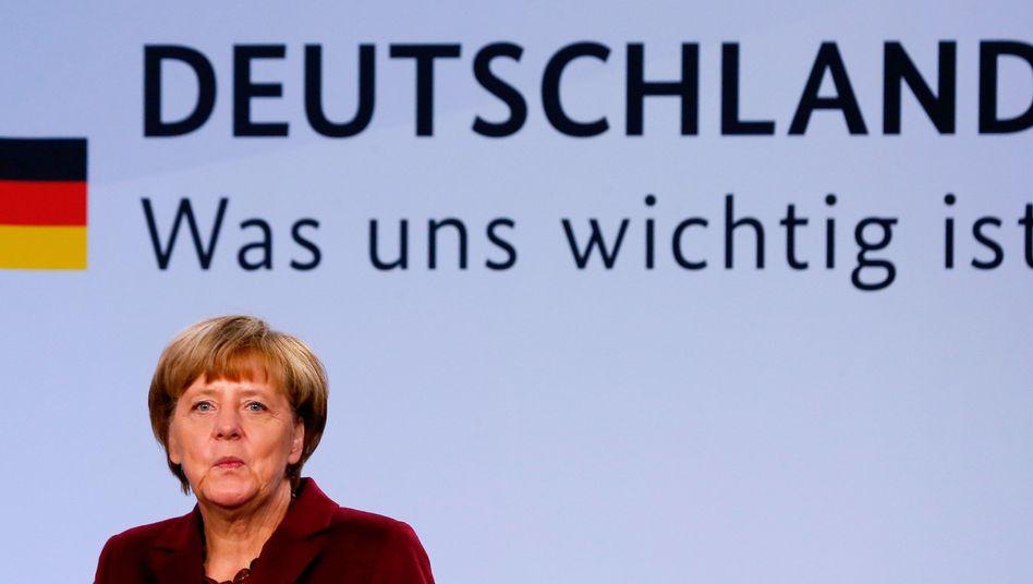 Angela Merkel: Kanzlerin räumt Probleme ein